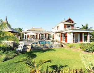 private villas in mauritius to rent