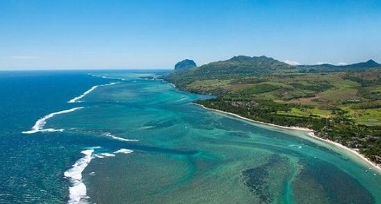 Deep wild south in Mauritius