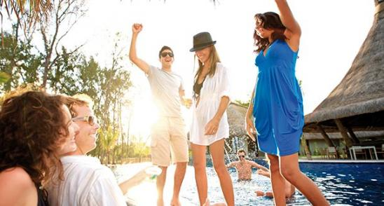 Musical events and beach parties in Mauritius